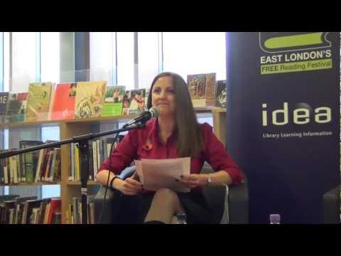 Idea Store Short Story Competition First Prize winner Sharon Flockhart