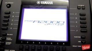 Yamaha PSR A2000 Oriental Keyboard