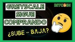 WOW!! GREYSCALE sigue COMPRANDO BITCOIN 😱 | Btc/Criptomonedas/bitcoin español