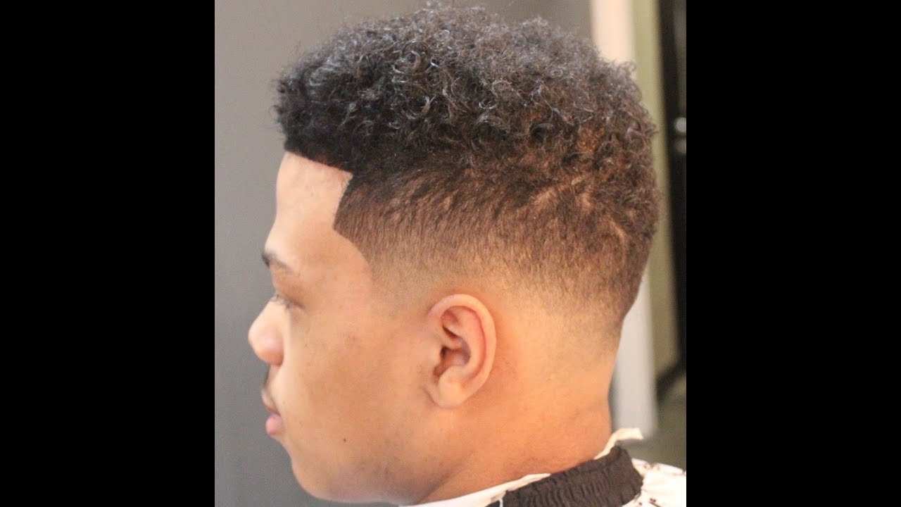 Low Afro Fade Tutorial By Zay The Barber Youtube