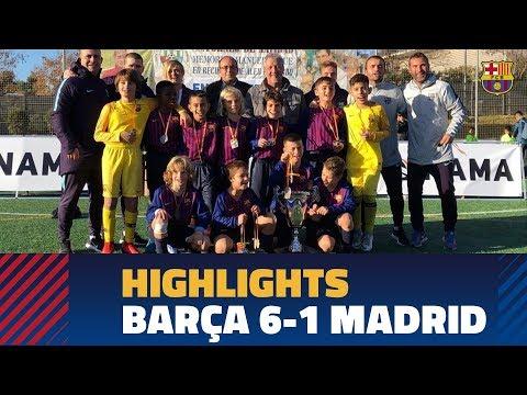 [HIGHLIGHTS] FC Barcelona U10A 6-1 REAL MADRID