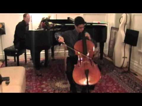 Karl Davidoff Cello Concerto No 2 1st Mvt Greg De Paula Youtube