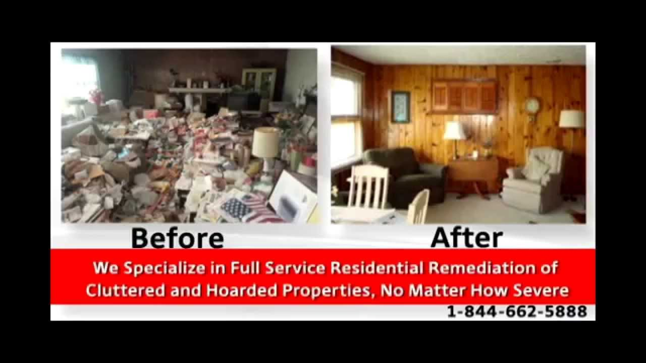 Clutter hoarding pros offers severe hoarding clean up for Cleaning out house after death
