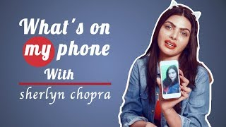 What's In My Phone With Sherlyn Chopra | Exclusive Interview | POP Diaries