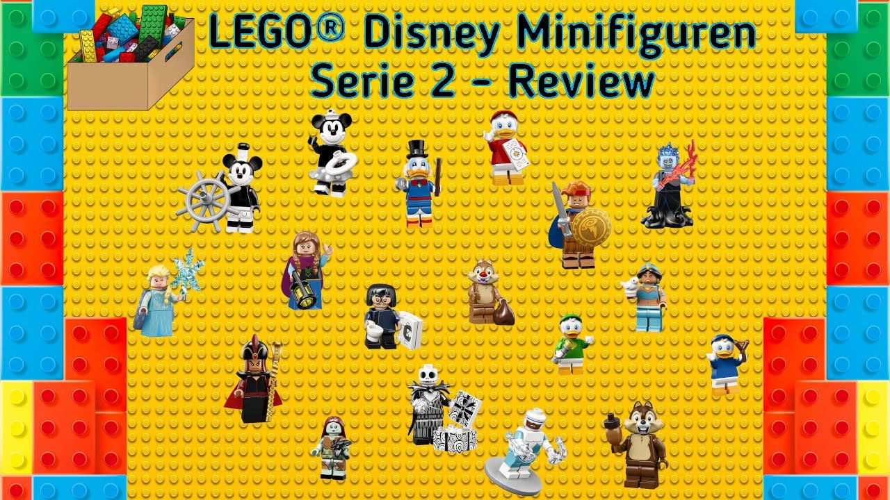 Lego 71024 Minifiguren Disney Serie 2 Review Und Gewinnspiel Auslosung