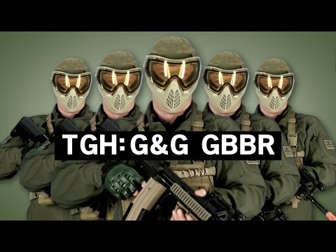 Airsoft GI -Tactical Gear Heads - G&G Gas Blow Back M4 Rifle Load Out