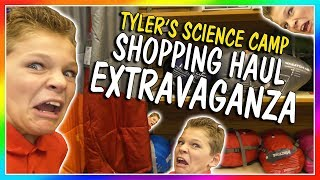Dad takes Tyler out to get everything he needs to go on his school ...