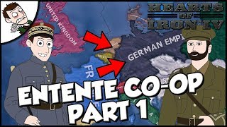 Hearts of Iron 4 The Great War United Kingdom and France Co-op Part 1