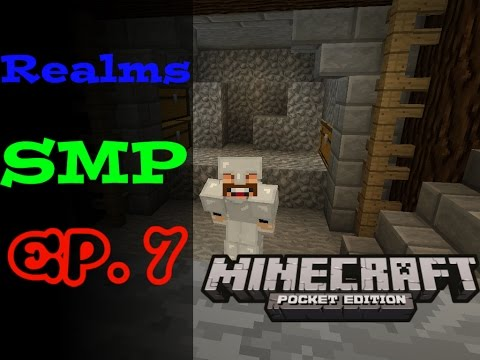 MCPE REALMS SMP Ep. 7 - I Been Pranked!!!- Minecraft PE 0.15.8