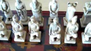 Chinese Terracotta Warriors Chess Set
