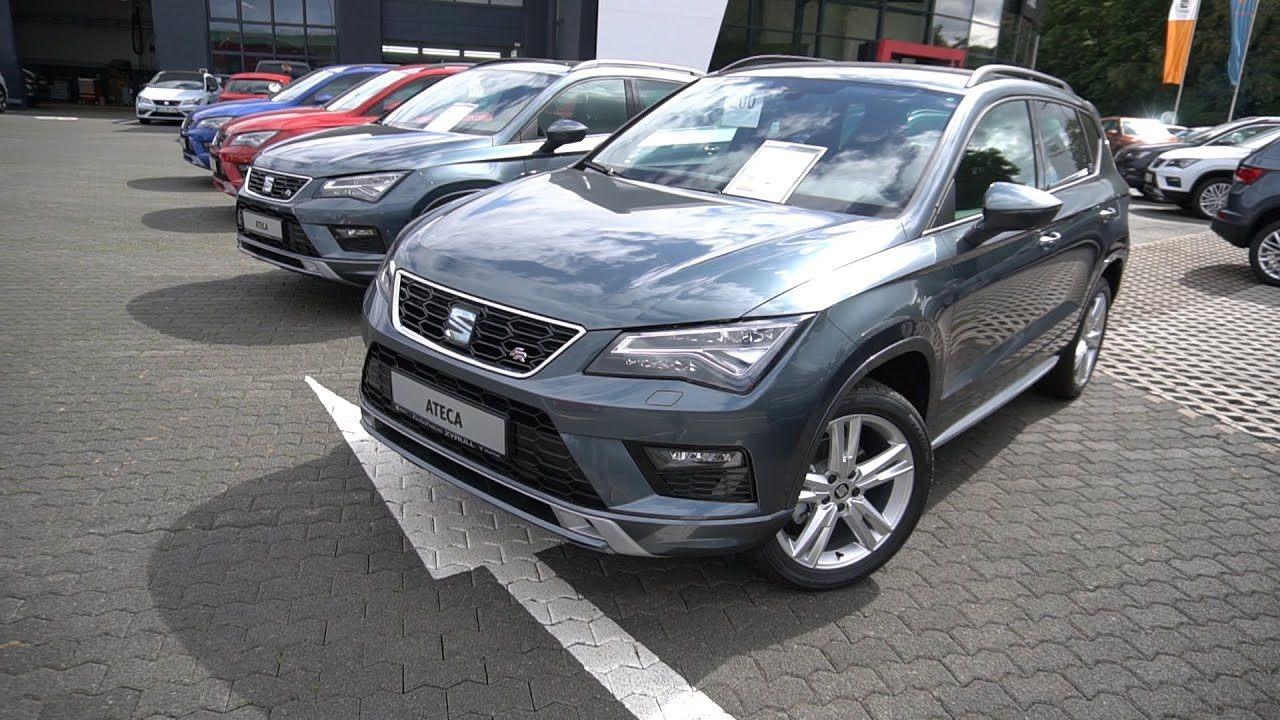 Download SEAT Ateca FR 1.5 TSI ACT 2020 Test Review Preview Overview