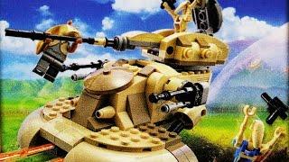 LEGO Star Wars 2015 AAT (Timelapse & Review) - Set 75080