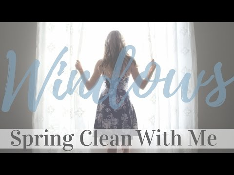 Spring Clean With Me | Windows