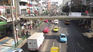 Тайланд,Бангкок. Вид со станции метро.