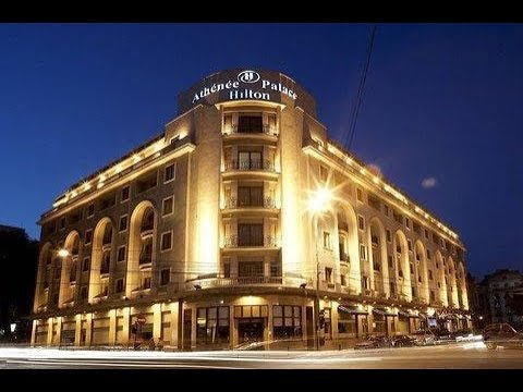 Athenee Palace Hilton Bucharest Hotel, Romania. Watch before