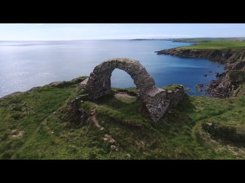 Exploring Scotland by drone (Dumfries and Galloway)