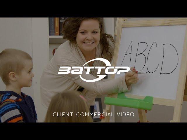 Battop Kids Easel Commercial Video - Made by Envy Creative