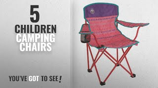 Top 5 Children Camping Chairs [2018]: Coleman Kids Quad Chair, Pink