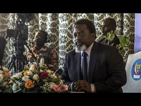 DR Congo's Kabila to announce successor amid fears he will seek third term