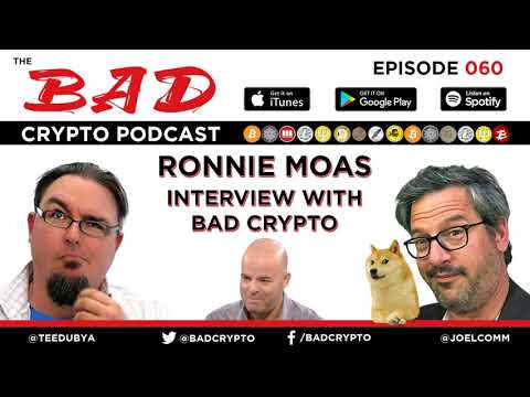 Ronnie Moas and the Future of Bitcoin