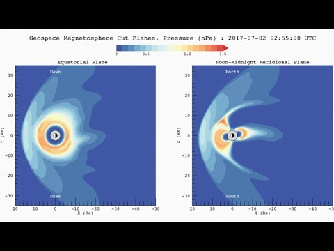 Solar Storm Hits Central America | S0 News July.2.2017
