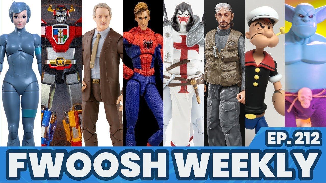 Weekly! Ep212: Star Wars, Marvel Legends, SilverHawks, DC, Fortnite, Voltron, Plunderlings more!