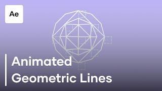 After Effects Hareketli Geometrik Çizgileri Oluşturma