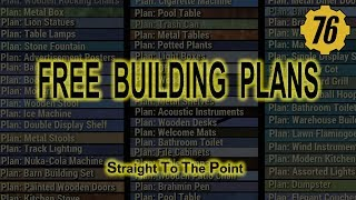 FALLOUT 76 How to get FREE Camp Plans