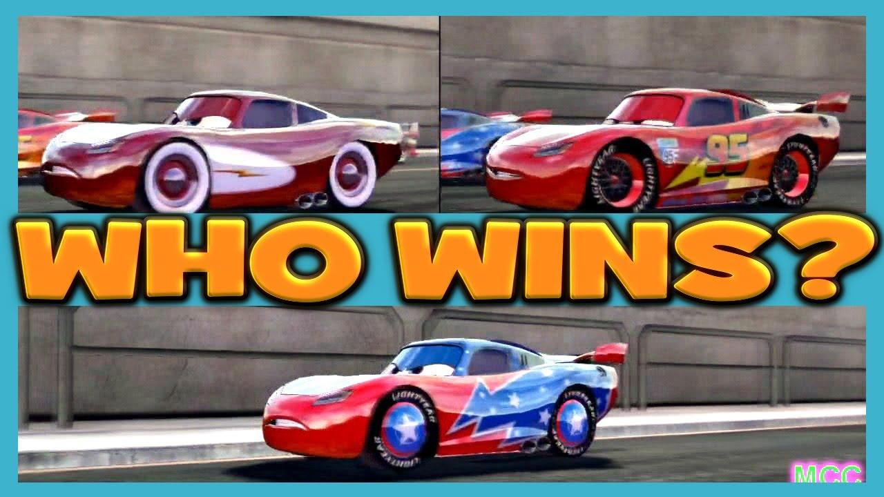 Cars The Video Game Lightning Mcqueen Radiator Mcqueen
