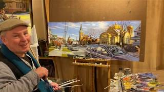 On Cityscapes- Painting American Cities in oil- With Brian Keeler