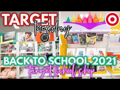 *BACK TO SCHOOL* Target School Supplies Shop 2021 | *NEW* Target Dollar Spot finds | target tuesday