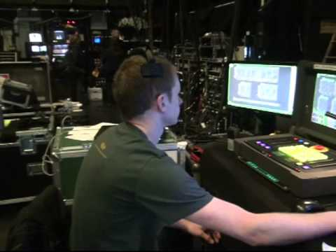Backstage tour of Ghost The Musical at Wolverhampton Grand Theatre