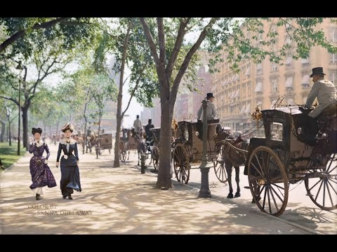 New York City 1900-1919 In Color HD