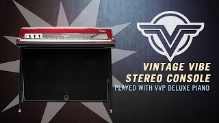 Vintage Vibe Stereo Console