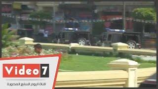 بالفيديو..قوات الانتشار السريع تمشط ميدان التحرير لتأمين المحتفلين بقناة السويس الجديدة
