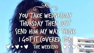 SZA The Weekend Lyrics