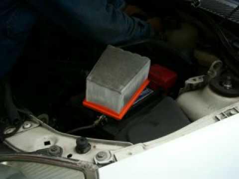 afinacion platina cambio de filtro de aire