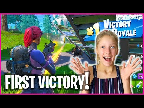 GETTING MY FIRST VICTORY ROYALE!!!