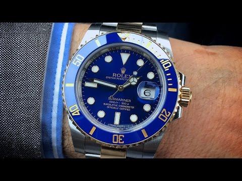 """Rolex Submariner ref# 116613LB """"Two Tone"""""""