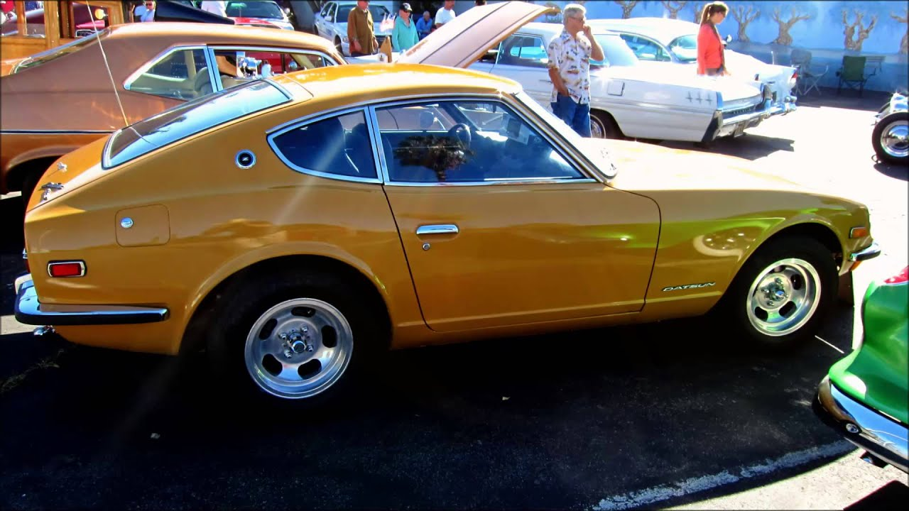 The original classic Datsun 240Z sports car (1/11/2014) - YouTube