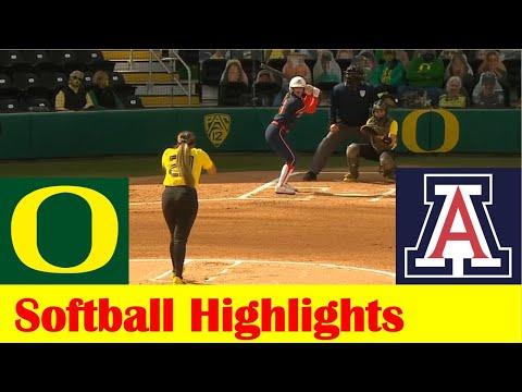 #10 Arizona vs #12 Oregon Softball Game Highlights 5 7 2021