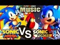 Sonic Forces VS Sonic Mania (Classic Music)