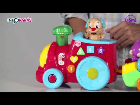 Fisher Price - Tren Interactivo Perrito