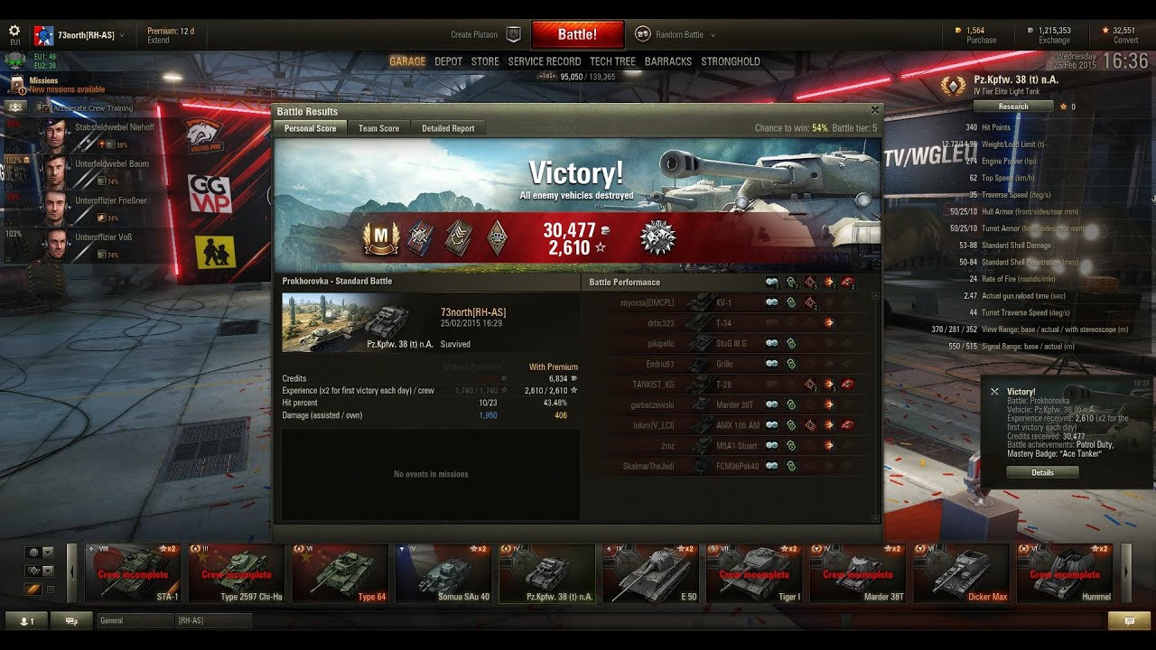Pz38na Scout Matchmaking