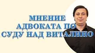 мнение адвоката по суду над Виталино