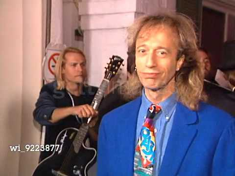 Bee Gees at the Polygram Grammy Party (1996)