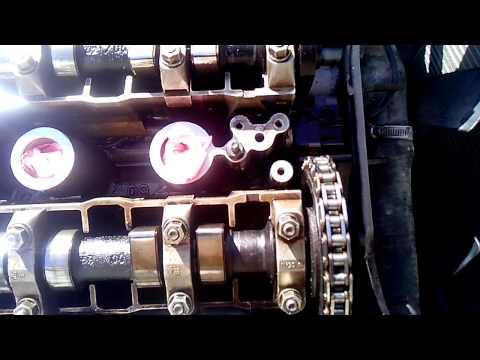 BMW e34 M50B20 фазы ГРМ и цепи - часть 1