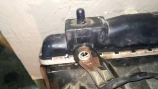 Как снять радиатор на Чери Тиго (устранить течь антифриза)