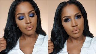 Ultra Violet Smokey Eye | MakeupShayla