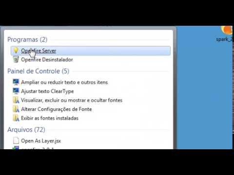 Instalação OpenFire + Spark instant Mensseger